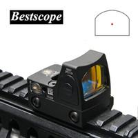 Прицелы Trijicon Mini RMR Red Dot с прицелом / прицел Рефлекторный прицел подходят для рельса ткача 20 мм для страйкбола / охотничьего ружья