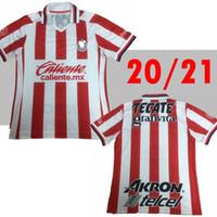 2020 2021 México homem Guadalajara Chivas Jersey O.peralta Home 20 21 Camisa de Futebol S-2XL