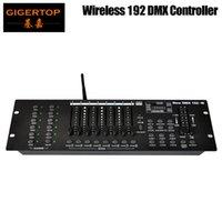 192 Свет этапа контроллер MIDI совместимый USB Светодиодная лампа 3Pin разъем DMX Gigertop Этап освещения TP-D1344 DMX Wireless