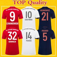 Bayern Soccer Jersey 2020 Home Away Third Bayern Munich 19 2...