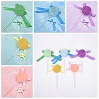 Shimmer Lollipop Lashes Box 3D Cigli di visone Scatole finte ciglia finte Confezione Custodia Ciglia vuota Strumenti cosmetici RRA1278
