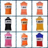 BIC Team Cycling Stickey Jersey Gilet Vest Mens Estate Quick Dry Dry MTB Vestiti per bicicletta Mountain bike Tops Ropa Ciclismo Abbigliamento da corsa Y21040710