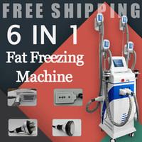 4 em 1 multifunções Cryolipolysis LipoLaser cavitação RF Congelamento Fat4 cool alças Body Sculpting Fat Congelamento emagrecimento máquina