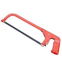 Hacksäge Hohe Spannung Handwerkzeug Auftragnehmergrad Hacksaw Dual-Zweck Metall Solid Frame Winkelblatt Orange