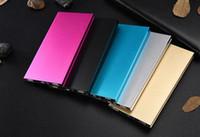 메탈 슬림 전원 은행 20000mah 휴대용 모바일 배터리 백업 충전기 2 개 USB 포트 비상 충전기에 대한 모든 스마트 폰 삼성