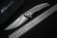 Новый MGF Широгорова квантовый складной нож VG10 лезвие титановая ручка отдых на природе охота карманный нож выживания на открытом воздухе инструменты EDC