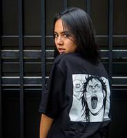 shirt dos homens t Akira injeção quadrinhos Camisetas 19ss Verão Tee Womens camiseta hip hop algodão dos desenhos animados manga curta Shirts Unisex