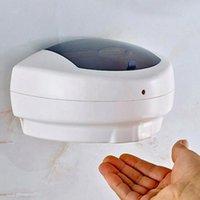 500ml Distributeur de savon liquide Capteur infrarouge savon Distributeurs Distributeur de savon mural Distributeur gel désinfectant pour mains ZZA2297 48pcs
