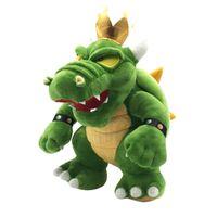 Groene Bowser Koopa King Pluche Doll Gevulde Dieren Toy Baby Geschenken 11.8 Inch 30cm
