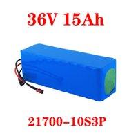 LIITOKALA 21700 Batteria 36V 30AH 25AH 20AH 15Ah Battery Pack 500W Batteria ad alta potenza 42V Ebike Bicicletta elettrica BMS