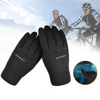Sporthandschuhe Wasserdicht Winter Warmdicht Outdoor Dicke Fäustlinge Touchscreen Unisex Männer Radfahren Handschuh