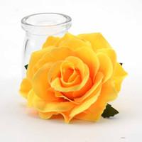 Teste 30pcs 10cm artificiale della Rosa della seta fiori per il matrimonio della decorazione di DIY Corona Confezione regalo di Scrapbooking del mestiere falso piante