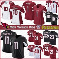 10 DeAndre Hopkins Arizona Custom Men Women Kids Football jersey Cardinal 11 Larry Fitzgeral 1 Kyler Murray 41 Kenyan Drake 13 Kirk jerseys