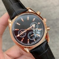 All Subdials Work 2019 Dress Luxury Man Watch Casual leather...