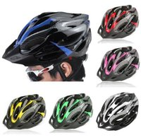 6 Colors Bicycle Helmets Matte Black Men Women Bike Helmet B...