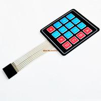 Freeshipping 100 pçs / lote 4 * 4 4x4 Matrix Matriz bordo 16 Interruptor de Membrana pad Para DIY Starter Kit