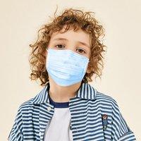 Máscaras desechables para niños, Mascarillas prueba de polvo, niños higiénico Mascher, Delgado BOCA 3 capas MÁSCARAS EAR LOOP, 3 capas no tejidas