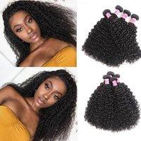çift atkı insan saçı insan saçı uzantıları TKWIG kıvırcık saç ürünleri 4 desteler toptan bakire