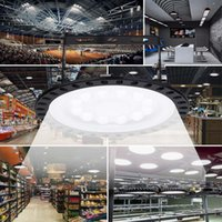 Luces LED brillantes OVNI gran lámpara LED 4000LM disipación de calor ultra fino del estilo industrial de alta Shed lámpara que envía libremente en América Wareh