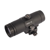 Taktische 3x-vergrößerte VMX-3T-Sicht-Jagdgewehr 3x-Lupe mit Wechseln zu Seite QD-Halterung für holographischen roten Punktbereich