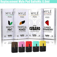 New Replacement Myle Pods Mighty Mint Summer Strawberry Five...