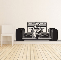 Formula 1 Race Sport Car Sticker murale vinile poster Decor Sticker Art Mural casa decorazione della casa Accessori fai da te Kid