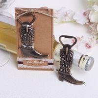T3I5631 açacağı Avrupa düğün hediyesi şarap seti bira şampanya şişesi modelleme Yaratıcı ayakkabı şişe açacağı kovboy çizmeleri
