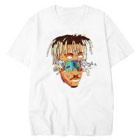RIP JUICE WRLD Rest In Heaven T Shirt Short Sleeve Hip Hop Men T Shirt Rapper Xxxtentacion Mens Clothing