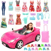 New Arrive Handmade 30 Items  lot= 10 Dolls Clothes 10 Doll ...