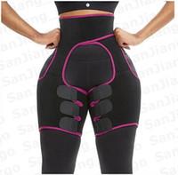 Neoprene Body Shaper Women Men Waist Leg Shapers Fitness Shapewear High Quality Shorts Sweat Sports Shapewear Slim Waist Bands E31207