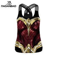 NADANBAO New Arrival Regatas Mulheres Cosplay aptidão Backless Tops Vest mangas roupa