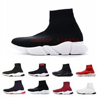 2019 Designer Sock Shoes Triple S Sneakers Speed Trainers Fl...