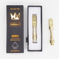 West Coast Cure pen Gold CurePEN Carts 0. 8ml 1. 0ml Ceramic C...