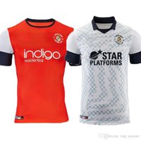 19 20 Luton Town soccer jerseys home red 19 20 camisetas awa...