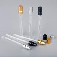 10ml di vetro della bottiglia di profumo vuota Spray Refilable boccetta atomizzatore del parfume fiale del profumo campione di vetro test della bottiglia JXW158