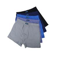 Grote maat losse heren katoen ondergoed boyshort hoge taille slips ademende grote maat MMEN's ondergoed L-6XL 7XL 8XL