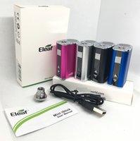 Eleaf Istick Mini 10w Bateria Starter Kits 1050mAh VAZ VAZ VAZ VAZ COM USB Cabo EGO Conector Adaptador 510 Pen