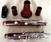 Ny högkvalitativ Rosewood Wood BB Key klarinett silverpläterade nycklar 17 nycklar