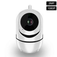 1080p Cloud Wireless IP Cámara IP Inteligente Auto Seguimiento de la Vigilancia de Seguridad Hogar Humana Red CCTV Mini Wifi Cam