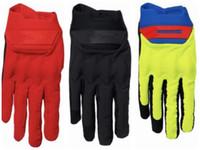 Hochwertige Box-Logo Art und Weise rutschfeste warme Handschuhe Motorrad Fahrrad Schläger Handschuhe