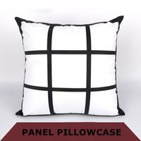DIY 승화 9 계통 베개 케이스 45cm * 45cm 열전달 인쇄 빈 pillowslip 열 전사 인쇄 폴리 에스터 베개 케이스 A07