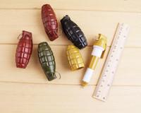 Coreano criativo granada papelaria mão styling caneta esferográfica telescópica caneta caneta personalidade
