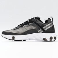 2020 React Element 87 55 Running shoes القادمة رد الفعل عنصر 87 حزمة الأبيض رياضية ماركة الرجال النساء المدرب الرجال النساء مصمم الاحذية zapatos 2018 جديد