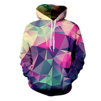 Os homens / mulheres Hoodies Hoody Imprimir cor obstrui Outono Inverno 3D hoodies Streetwear Tops soltos Casual