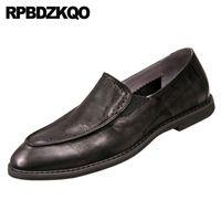 schwarz klassische formale britische Art braun spitze Zehe Brogue italienische Männer Schuhe Marken aus echtem Leder prom Brautkleid Luxus