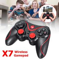 IOS에 대한 새로운 X7 블루투스 WirelessB 게임 패드 / 안드로이드 스마트 휴대 전화 게임 컨트롤러