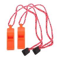 2x High Decibel Открытый Emergency Whistle Для безопасности Гребля Кемпинг Охота