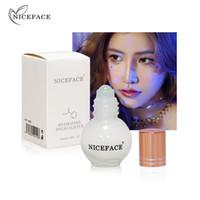 Niceface liquido evidenziatore trucco Shimmer Illuminate Maquiagem Evidenziare viso Bronzer Crema Viso professionale trucco per le donne