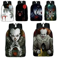 Stephen Kings It Polyester Backpack Pennywise College School...