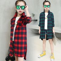 Girl' s Dress Fashion Shirt Spring and Autumn New Style ...